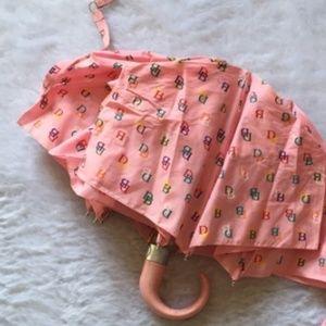 Bubblegum Pink Dooney & Bourke Umbrella
